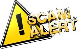 Image - Scam Alert - Yellow